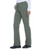 Photograph of Dickies Dynamix Women's Mid Rise Straight Leg Drawstring Pant Green DK130-OLV