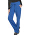 Photograph of Dickies Dynamix Women Mid Rise Straight Leg Drawstring Pant Blue DK130-ROY