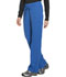 Photograph of Dickies Dynamix Women's Mid Rise Straight Leg Drawstring Pant Blue DK130-ROY