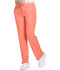 Photograph of Dynamix Women's Mid Rise Straight Leg Drawstring Pant Orange DK130-VCRL