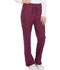 Photograph of Dickies Dickies Dynamix Mid Rise Straight Leg Drawstring Pant in Wine