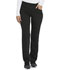 Photograph of Dickies Balance Women Mid Rise Straight Leg Pull-on Pant Black DK135-BLK