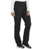 Photograph of Dickies Dickies Balance Mid Rise Tapered Leg Pull-on Pant in Black