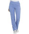 Photograph of Dickies Balance Women's Mid Rise Straight Leg Pull-on Pant Blue DK135-CIE