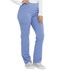 Photograph of Dickies Balance Women Mid Rise Straight Leg Pull-on Pant Blue DK135-CIE