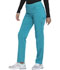 Photograph of Dickies Dickies Balance Mid Rise Straight Leg Pull-on Pant in Teal Blue