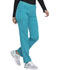 Photograph of Dickies Dickies Balance Mid Rise Tapered Leg Pull-on Pant in Teal Blue