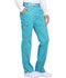 Photograph of Dickies Essence Mid Rise Tapered Leg Pull-on Pant in Teal Blue