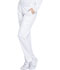 Photograph of Essence Women's Mid Rise Tapered Leg Pull-on Pant White DK140-WHT