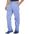 Photograph of Essence Men's Men's Drawstring Zip Fly Pant Blue DK160-CIE