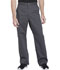 Photograph of Essence Men Men's Drawstring Zip Fly Pant Gray DK160-PWT