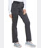Photograph of Dickies Advance Mid Rise Tapered Leg Rib Knit Waist Pant in Onyx Twist