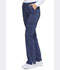 Photograph of Advance Women's Mid Rise Boot Cut Drawstring Pant Blue DK170-NAVT