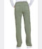 Photograph of Dickies Advance Mid Rise Boot Cut Drawstring Pant in Olive Twist