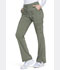 Photograph of Advance Women's Mid Rise Boot Cut Drawstring Pant Green DK170-OLVT