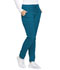 Photograph of Dickies Dynamix Natural Rise Skinny Drawstring Pant in Caribbean Blue