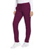 Photograph of Dynamix Women's Natural Rise Skinny Drawstring Pant Red DK190-WIN
