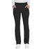 Photograph of Advance Women's Mid Rise Tapered Leg Pull-on Pant Black DK195-BLK