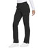Photograph of Advance Women Mid Rise Tapered Leg Pull-on Pant Black DK195-BLK
