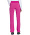 Photograph of Dickies Advance Mid Rise Tapered Leg Pull-on Pant in Hot Pink