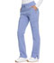 Photograph of Dickies Advance Mid Rise Boot Cut Drawstring Pant in Ciel Blue