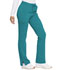 Photograph of Dickies Advance Mid Rise Boot Cut Drawstring Pant in Teal Blue