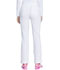 Photograph of Dickies Advance Mid Rise Boot Cut Drawstring Pant in White