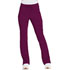 Photograph of Dickies Advance Mid Rise Boot Cut Drawstring Pant in Wine