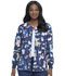 Photograph of Dickies Dickies Prints Snap Front Warm-Up Jacket in Adopt Don't Shop