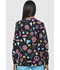 Photograph of Dickies Prints Women's Snap Front Warm-Up Jacket Peace & Love DK301-PALE