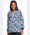 Photograph of Dickies Prints Women's Snap Front Warm-Up Jacket Purr-fect Strokes DK301-PUSK