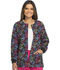 Photograph of Dickies Prints Women's Snap Front Warm-Up Jacket Street Heart DK301-STRH