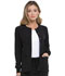 Photograph of EDS Essentials Women's Snap Front Warm-up Jacket Black DK305-BAPS