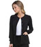 Photograph of Dickies EDS Essentials Women's Snap Front Warm-up Jacket Black DK305-BAPS