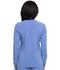 Photograph of EDS Essentials Women's Snap Front Warm-up Jacket Blue DK305-CIPS