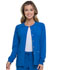 Photograph of EDS Essentials Women's Snap Front Warm-up Jacket Blue DK305-RYPS