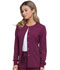 Photograph of Dickies Every Day EDS Essentials Snap Front Warm-up Jacket in Wine