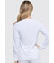 Photograph of EDS Essentials Women's Snap Front Warm-up Jacket White DK305-WTPS