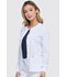 Photograph of Dickies Every Day EDS Essentials Snap Front Warm-up Jacket in White