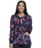 Photograph of Dickies Dickies Prints Snap Front Warm-Up Jacket in Blooming Twilight