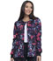 Photograph of Dickies Prints Women Snap Front Warm-Up Jacket Blooming Twilight DK306-BGTH