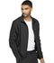 Photograph of Dickies Dynamix Men's Men's Zip Front Warm-up Jacket Black DK310-BLK