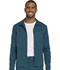 Photograph of Dickies Dickies Dynamix Men's Zip Front Warm-up Jacket in Caribbean Blue