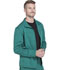 Photograph of Dickies Dynamix Men's Zip Front Warm-up Jacket in Hunter Green