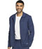 Photograph of Dickies Dynamix Men's Men's Zip Front Warm-up Jacket Blue DK310-NAV