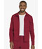 Photograph of Dickies Dynamix Men's Zip Front Warm-up Jacket in Red