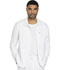Photograph of Dickies Dynamix Men's Men's Zip Front Warm-up Jacket White DK310-WHT
