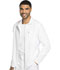 Photograph of Dickies Dynamix Men's Zip Front Warm-up Jacket in White