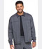 Photograph of Dickies Advance Men's Zip Front Moto Jacket in Pewter Twist
