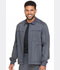Photograph of Dickies Advance Two Tone Twist Men's Men's Zip Front Moto Jacket Pewter Twist DK315-PWTT